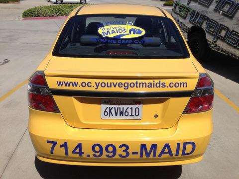 Fleet car graphics Orange County