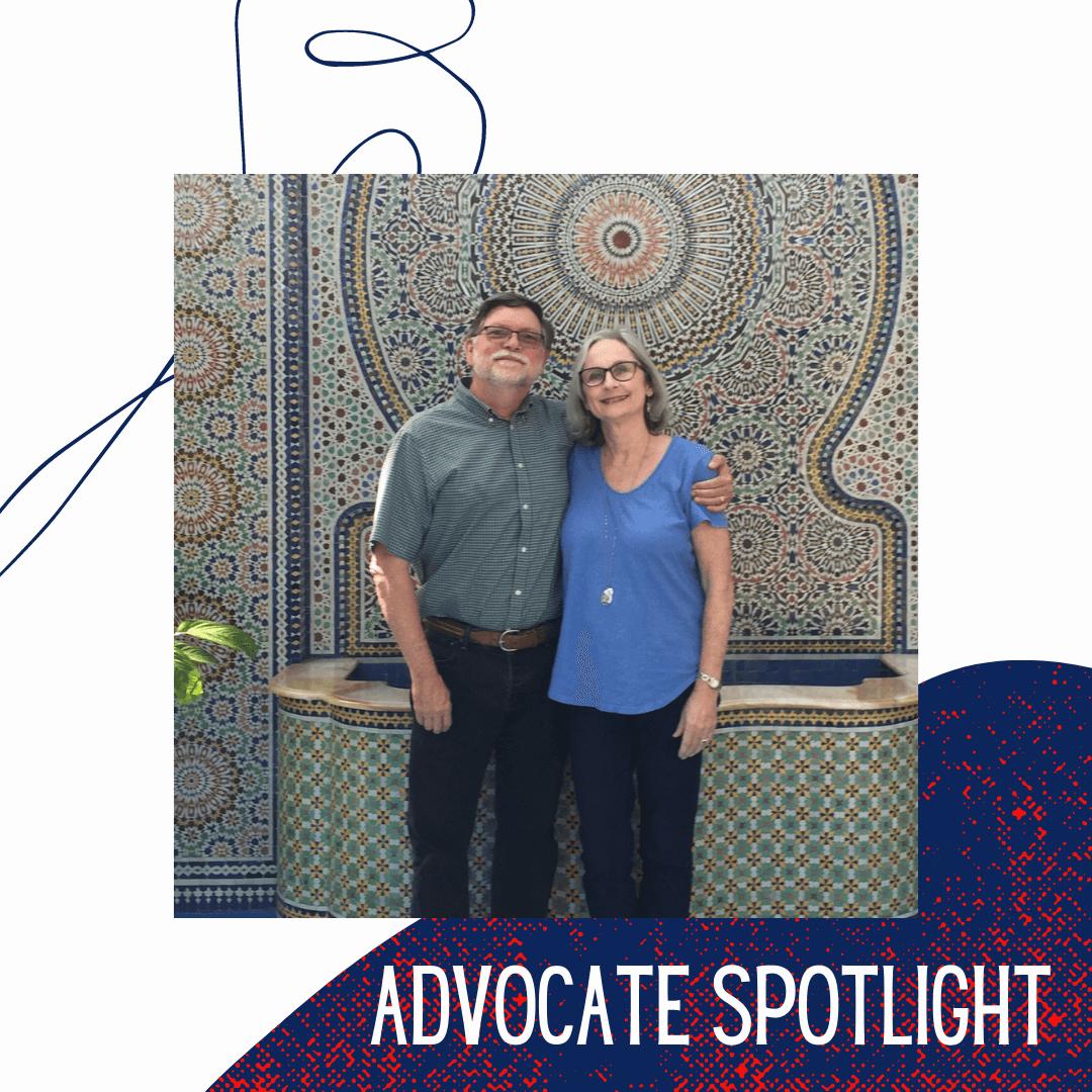 Advocate Spotlight- Torrey and Mark