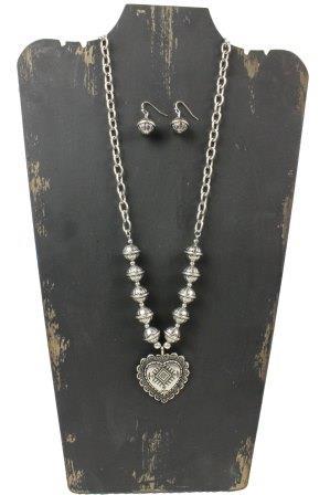 Trisha Waldron - Heart of a Cowgirl Necklace Set