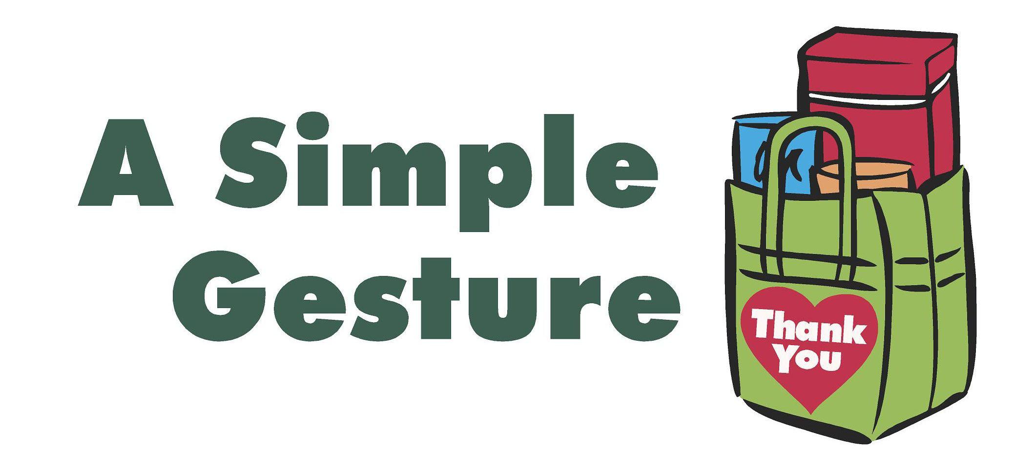 A Simple Gesture