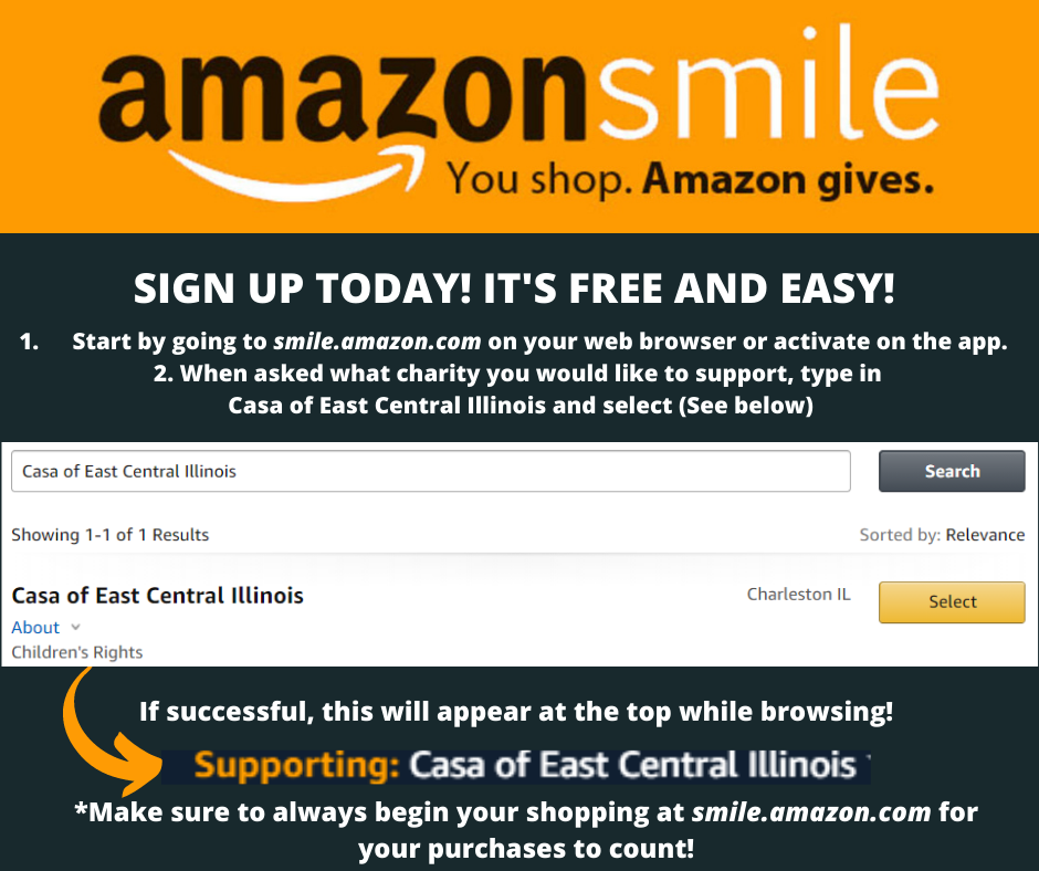 Sign Up for Amazon Smile