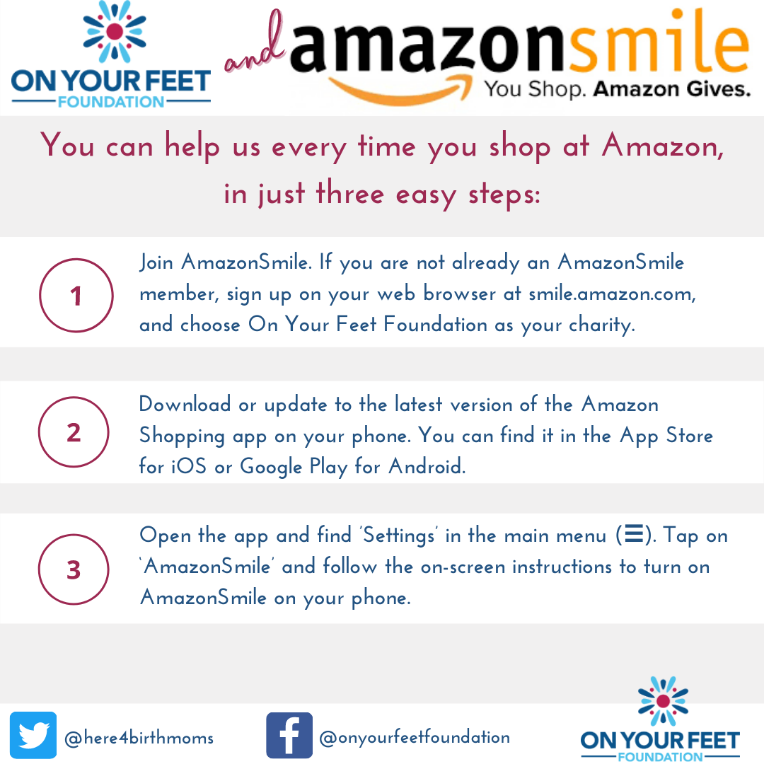 Amazon Smile: you can help us just by shopping