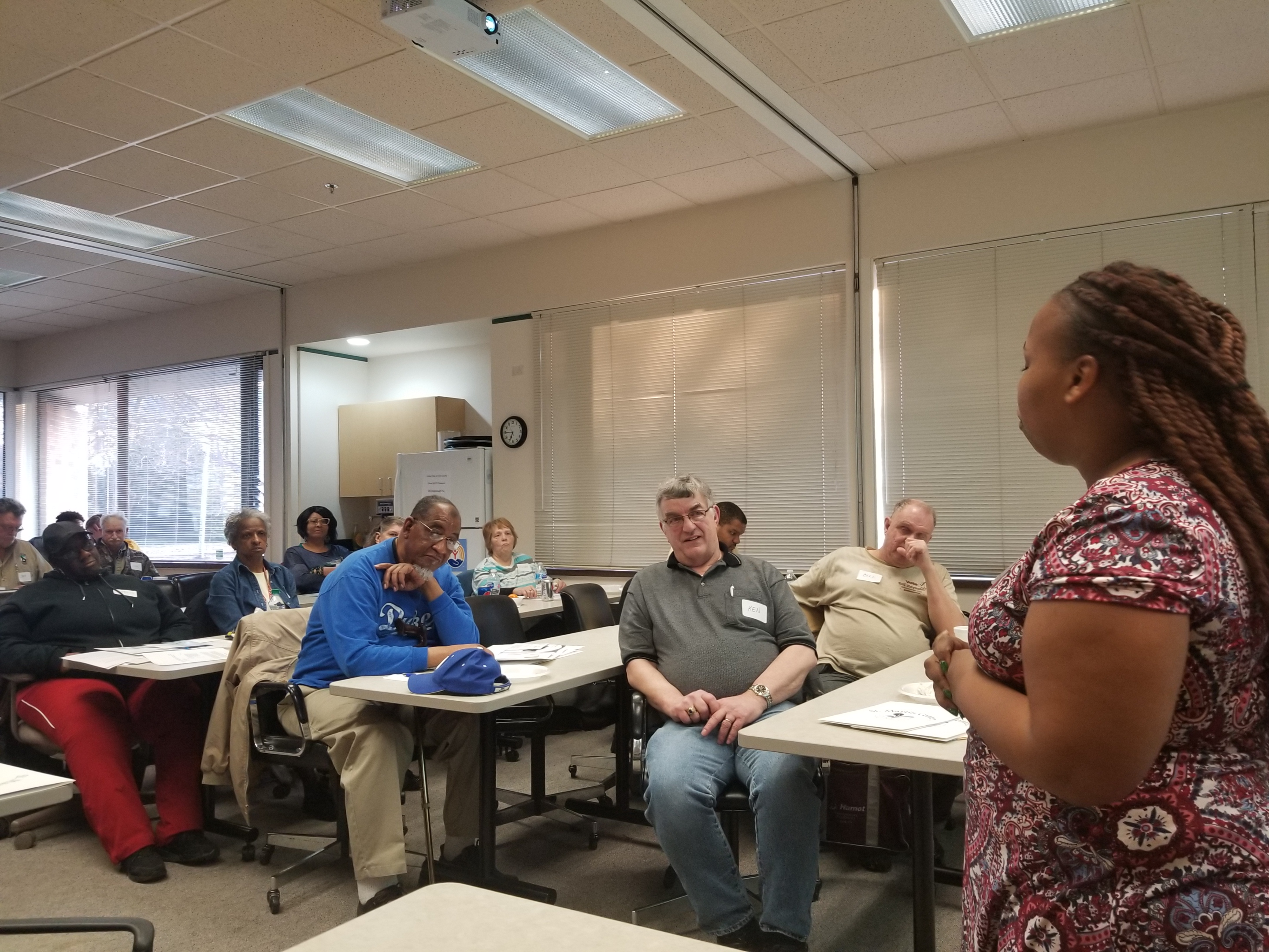 Christine, participated in the Financial Literacy Class