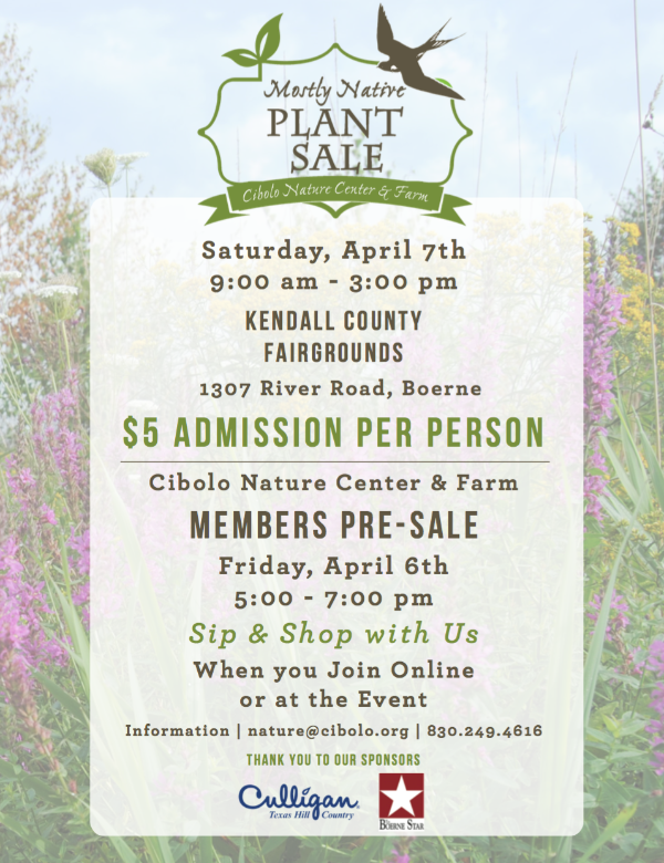 FAIRGROUNDS: Mostly Native Plant Sale