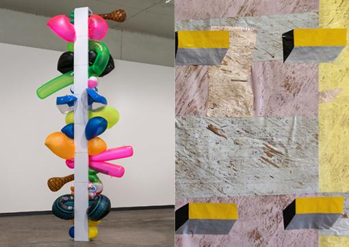 Garry Noland + Matt Jacobs Exhibition Opening