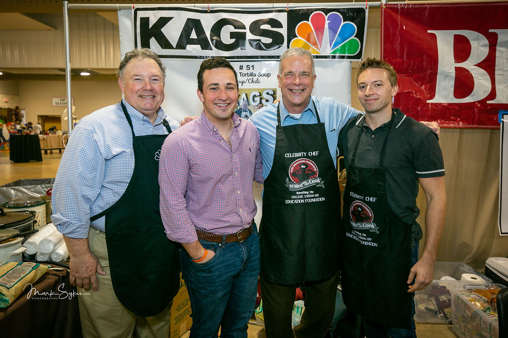 Jay O'Brien live at the 12th annual 50 Men Who can Cook event at the Expo Center.