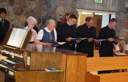Congratulations to Deacons Kregg Hochhalter and Jadyn Nelson to be ordained as priests - May 31, 2012