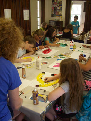 Fine Arts Camp 3 Begins: Mixed Media (Ages 9-14)