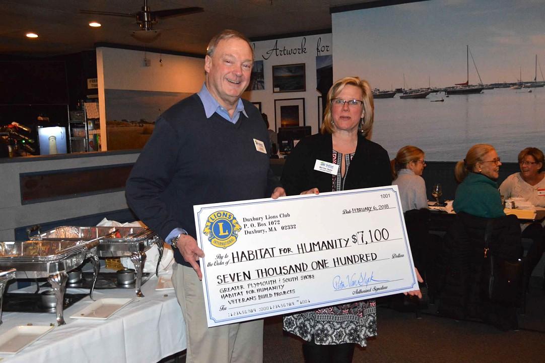 Thank you to Duxbury Lions Club!