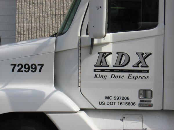 Truck Door Lettering & Logo Graphics