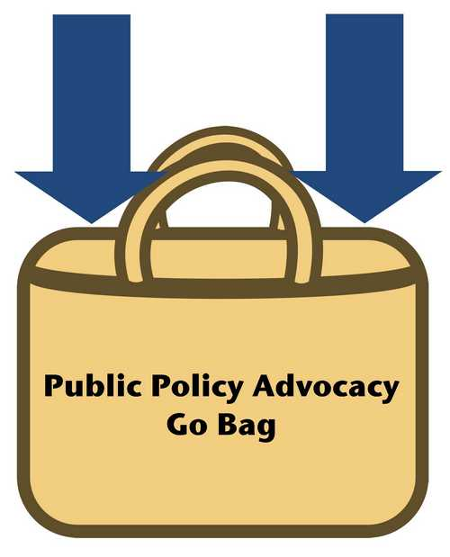 Public Policy Advocacy Go Bag