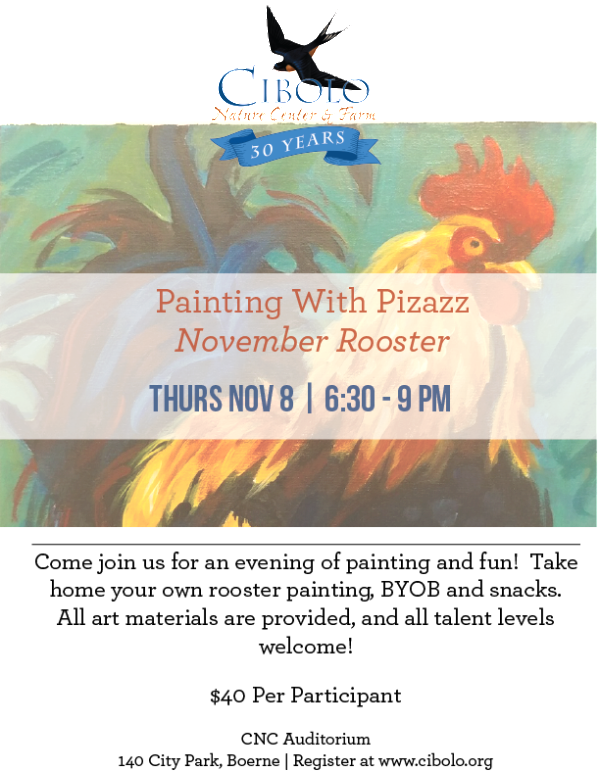 CNC:  Painting with Pizazz: November Rooster