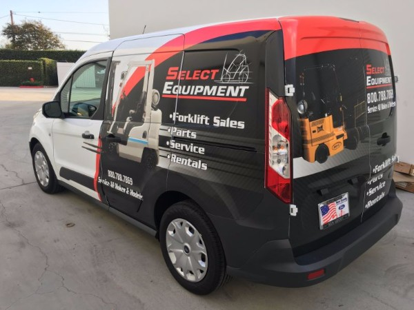 Fleet Van Wraps in Buena Park CA