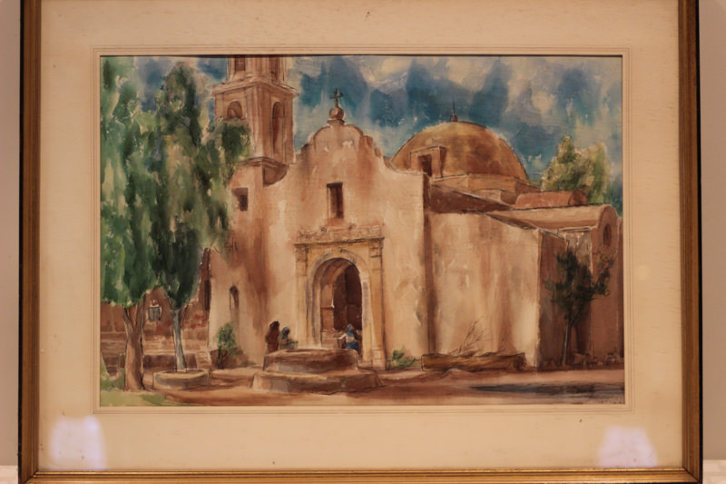 Dietz church painting - Donated by Bill & Jennifer Stewart