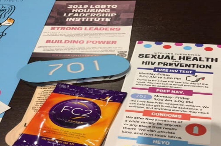 Public Library Provides Condoms, Lube & Chest Binders at Teen Pride Event