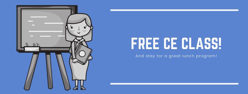 FREE CE Class