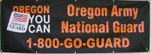 Oregon National Guard Banner