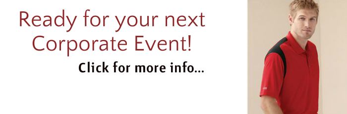 Corporate events Logo apparel