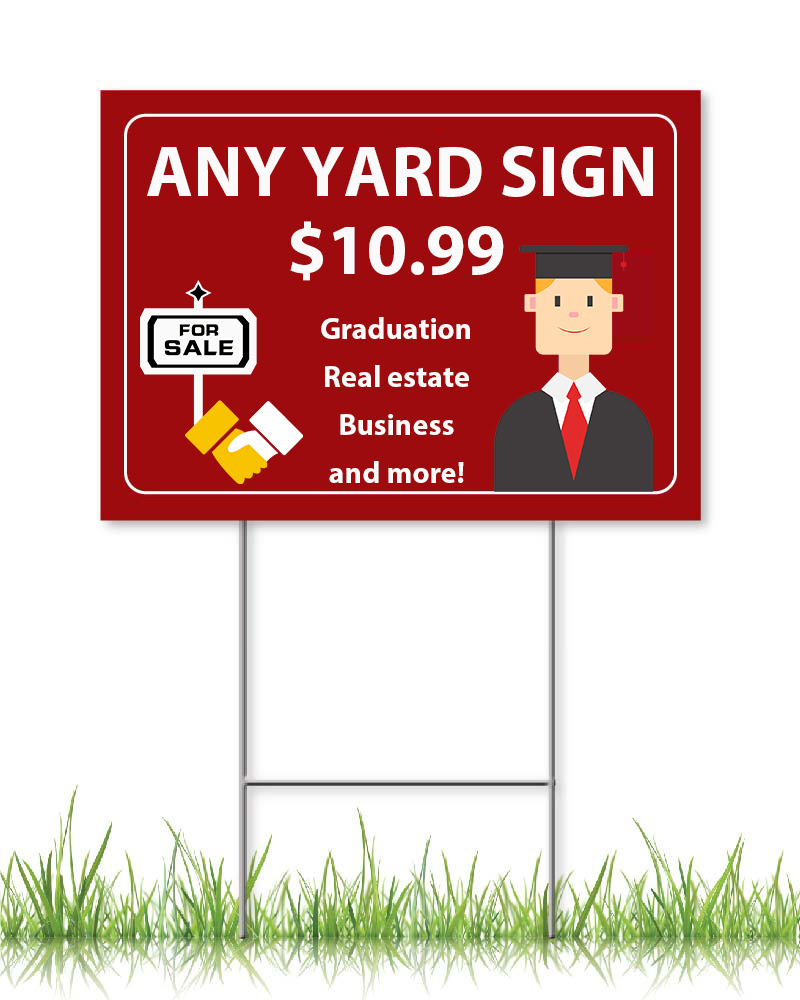 ANY LAWN SIGNS 18 x 24 (2021)