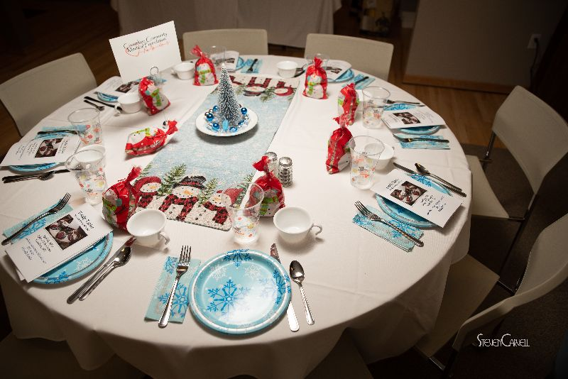 "$1,000 Sponsor Casselton Medical Foundation "" Blue Christmas"""