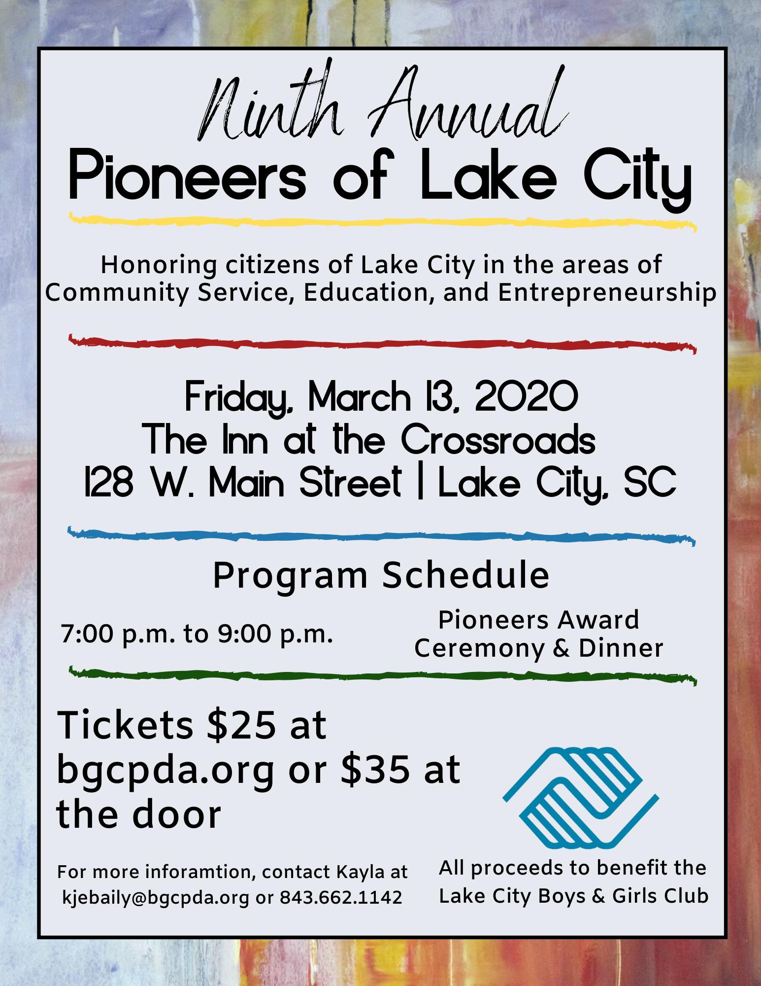 Pioneers of Lake City