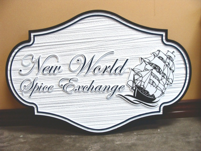 L21541 - Clipper Ship Business Sign