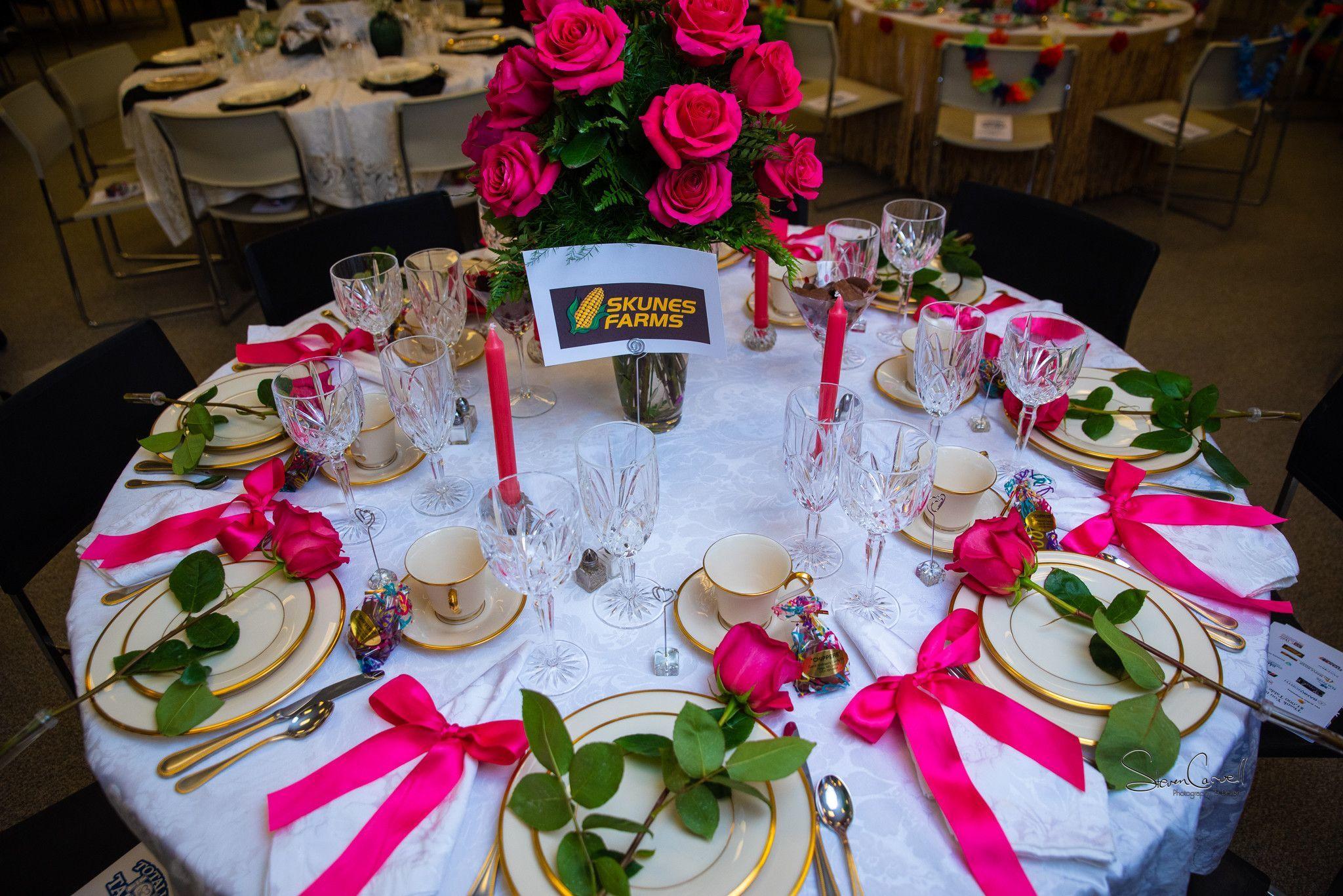 $1,000 sponsor - Skunes Farm - Hot! Hot! Hot! - Winner Most Elegant Table