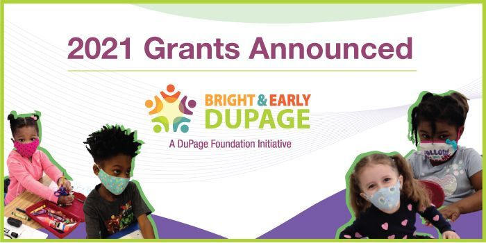 Grants Awarded Through DuPage Foundation's Bright & Early Initiative