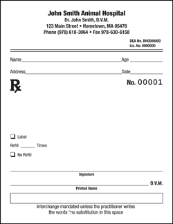 Prescription pad template microsoft word for Template for prescription pad