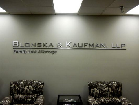 Legal Medical and Accounting Interior Signs