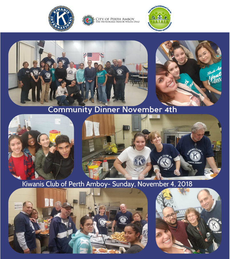 Community Dinner- November 2018