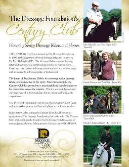 Century Club Information