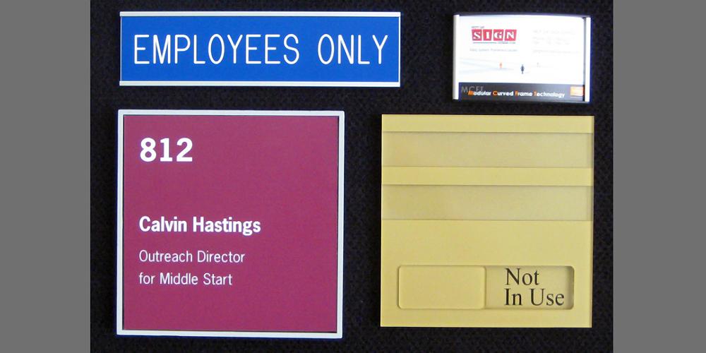 ADA & Office Signage