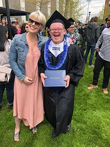 Cody Sullivan becomes the first student with Down syndrome to complete four years of college in Oregon
