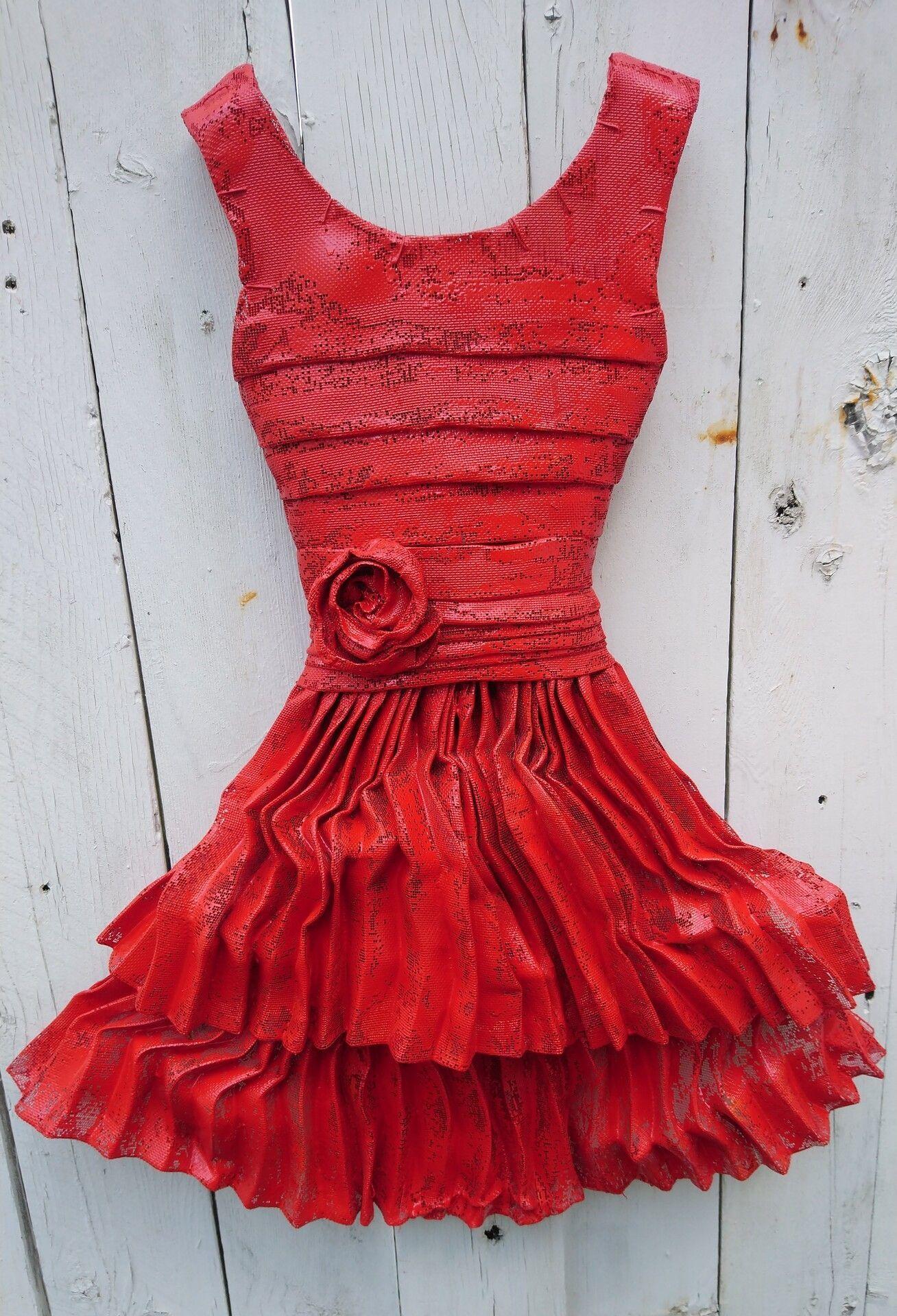 Red Dancing Dress