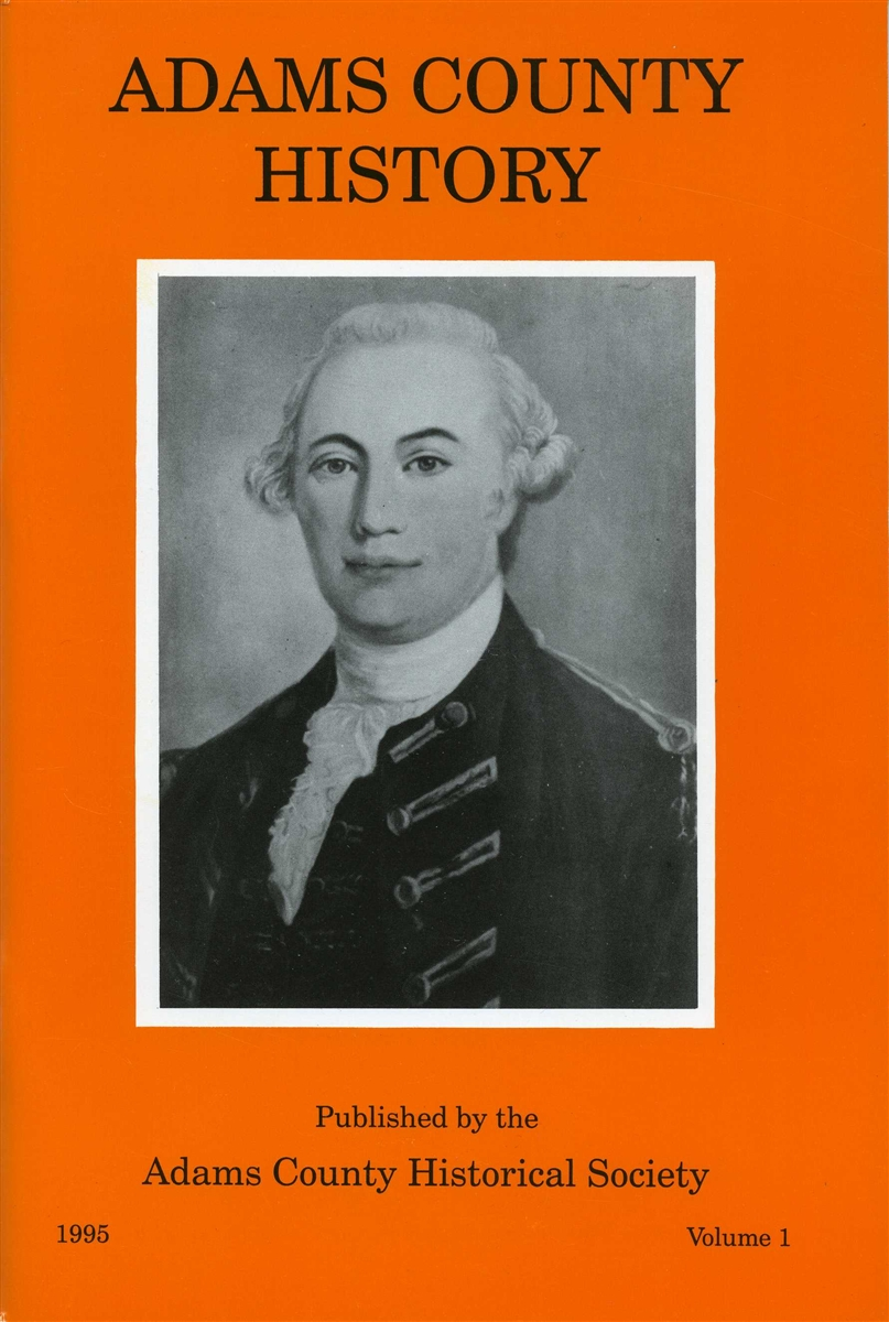 Adams County History Vol 1