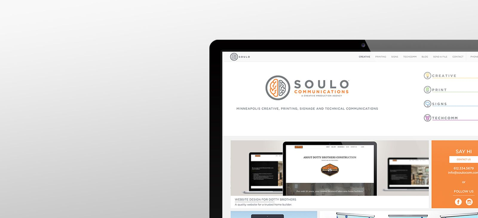 Commers Printing has now merged with Soulo Communications