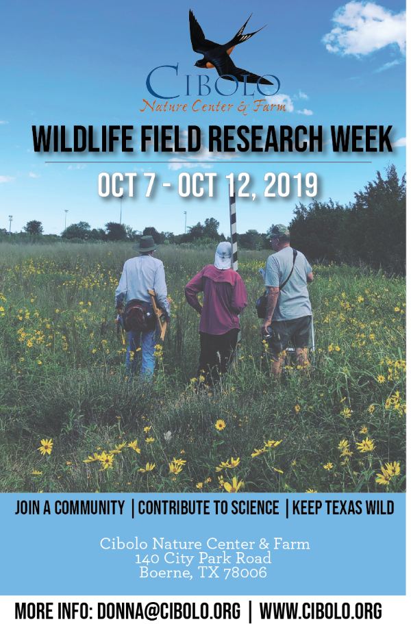 CNC: Fall Wildlife Field Research