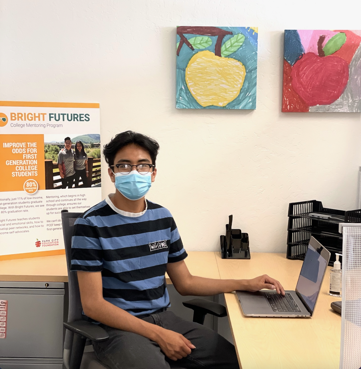 Ideas, Images and Language: Meet PCEF Bright Futures Summer Intern Edwin Ramos