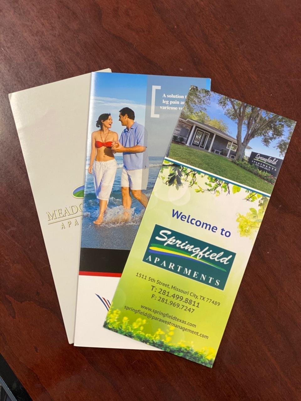 Brochures - 8.5x11 Text Weight