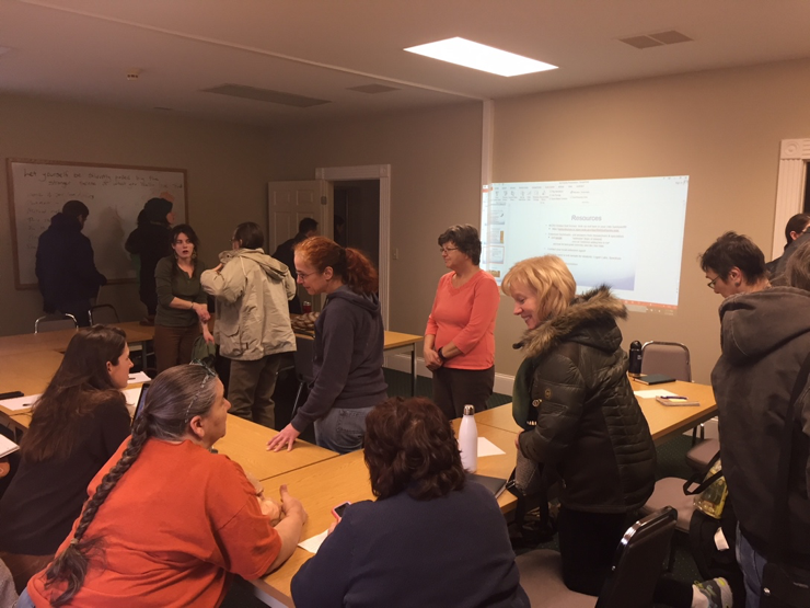 Workshops, What I Learned:  February 2018