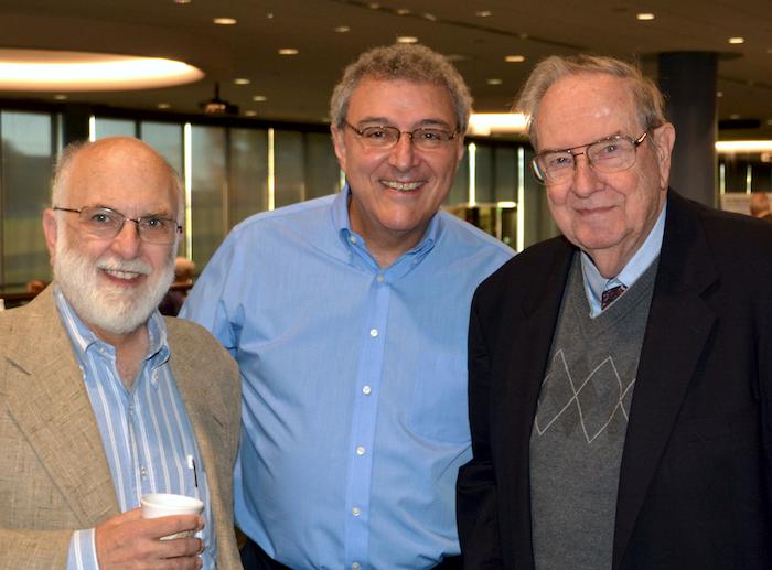 Glen Miranker with Dave D'Auria and Dick Bernard