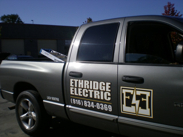 Spot-On Signs & Graphics Vehicle Graphics Ethridge Electric