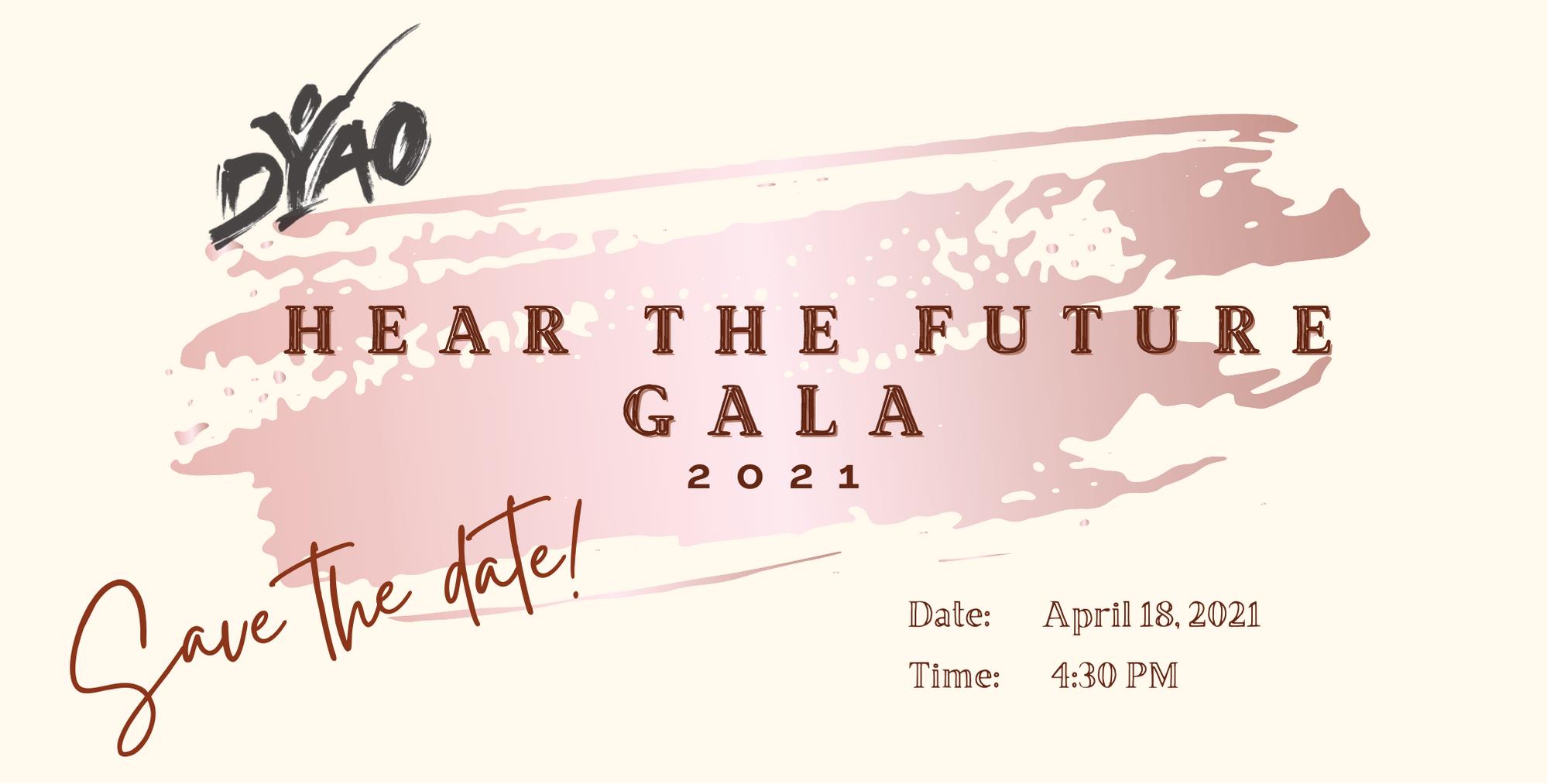 Hear the Future Gala 2021