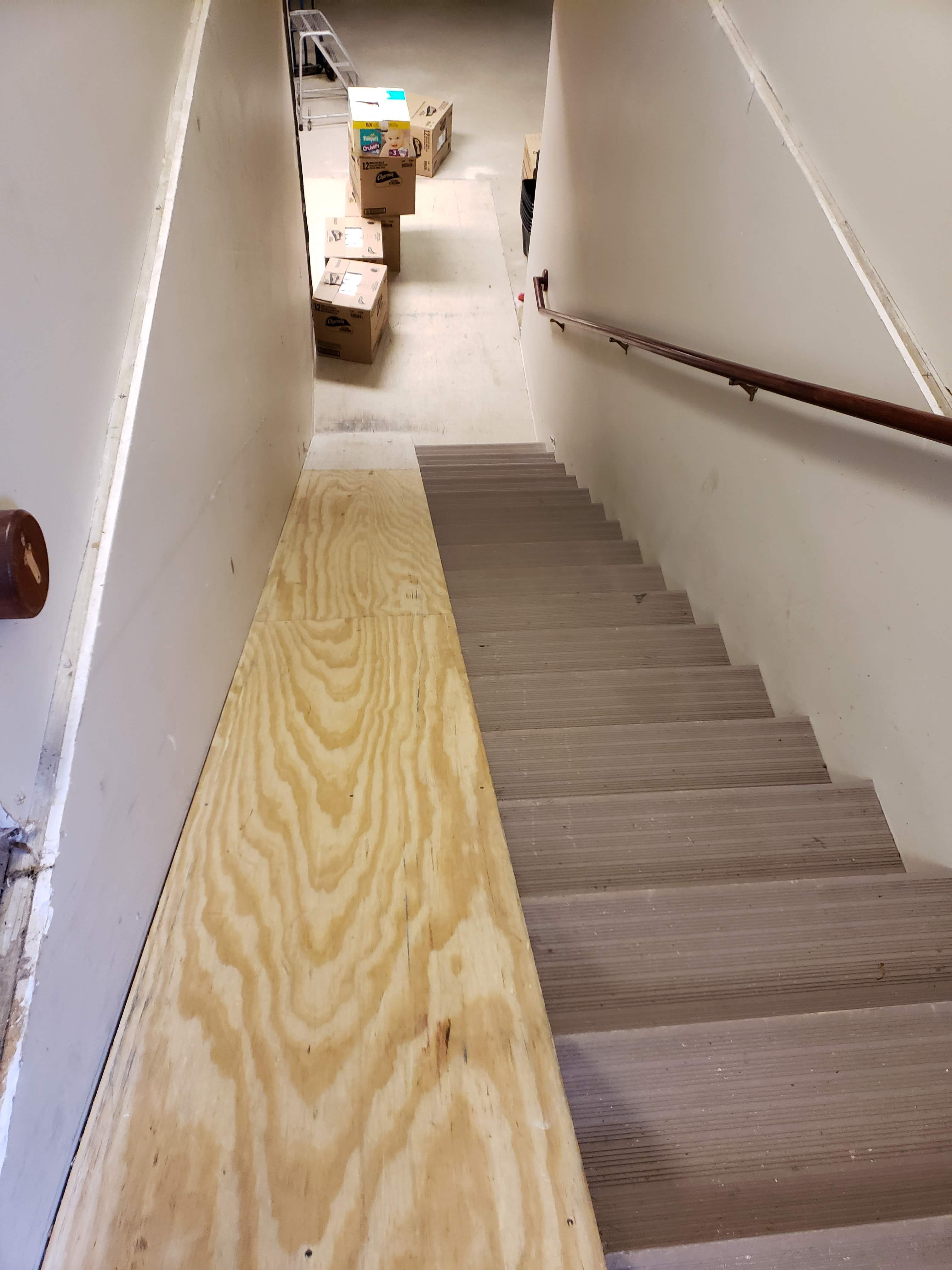 Old Ramp To Basement