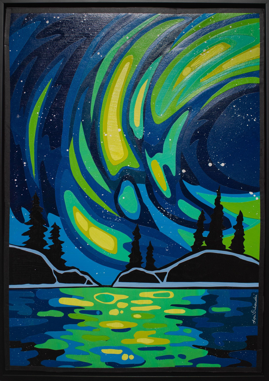 "Lori Orlowski - ""Green Aurora"""