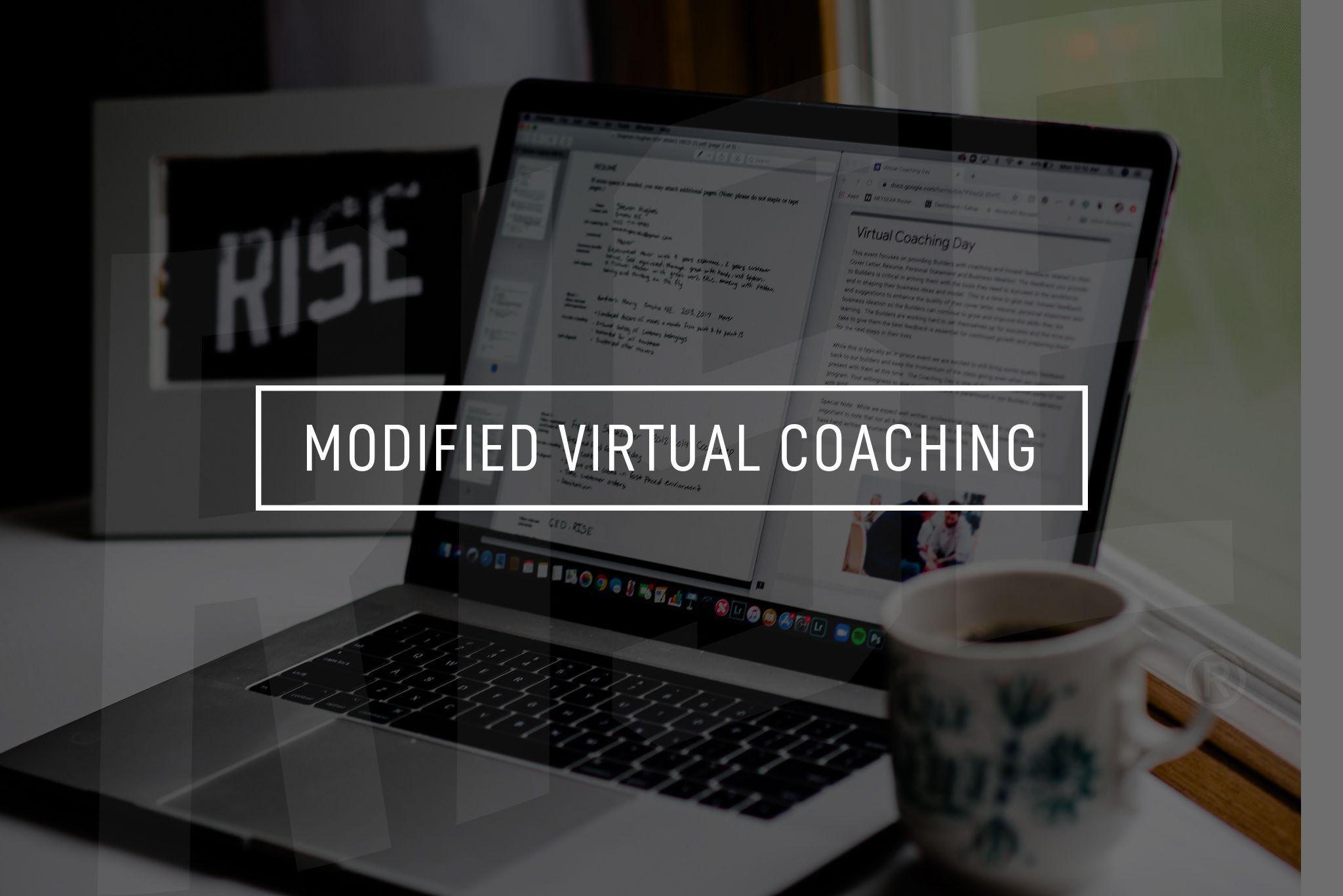 Virtual Modified Coaching Event