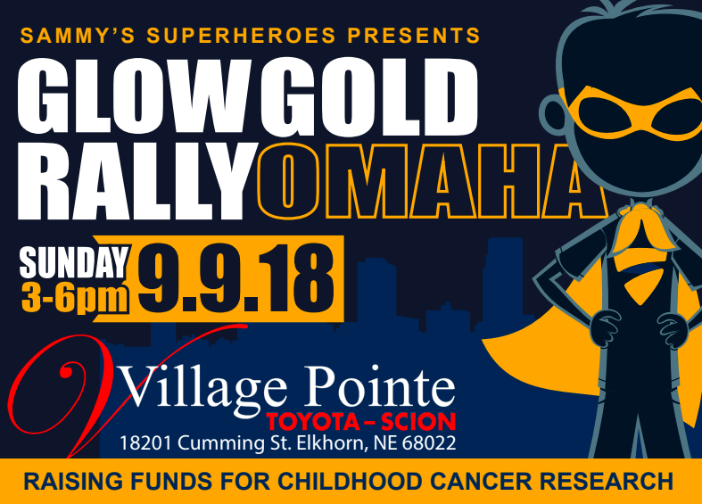 Glow Gold Rally Omaha