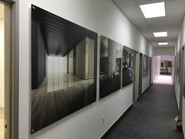 High resolution matte prints for showroom walls in Anaheim CA