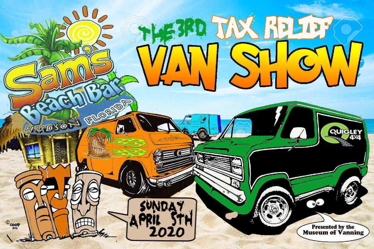 3rd Annual Tax Relief Van Show